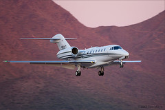 Cessna Citation X (Model 750) (Tom_Morris Photos) Tags: aircraft jet cessna bizjet scottsdaleairport sdl citationx ksdl n711vt