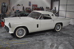 """1957 Ford Thunderbird E Code Dual Quad 312 • <a style=""""font-size:0.8em;"""" href=""""http://www.flickr.com/photos/85572005@N00/6703585369/"""" target=""""_blank"""">View on Flickr</a>"""