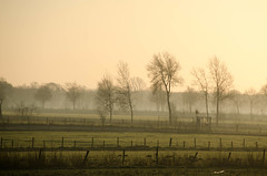 Across the fields (Gies! (back home, trying to catch up)) Tags: sunrise fields twente zonsopgang losser weilanden