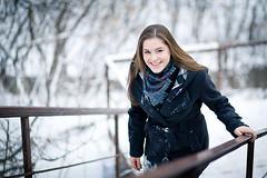 Nina ([]NEEL[]) Tags: winter portrait snow girl outdoor портрет зима снег девушка