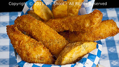 Fish and Chips (weeviltwin) Tags: fry potatoes frenchfries chips potato fries fried deepfried libertyfries seattlefoodphotography weshootcom