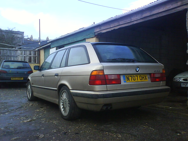 se august bmw 1995 525 touring 2494cc n707ohx