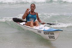 Kirsty Holmes (A Shot Of Sport) Tags: ocean life sea woman ski beach swim iron surf board paddle australia run queensland series athletes saving swimsuit holmes kirsty surfersparadise goldcoast lifesaving ironwoman kirstyholmes