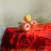 Still Life & Red Apples (MargoLuc) Tags: red stilllife texture silverware apples mybirthday platinumheartaward alwaysexc absoluterouge