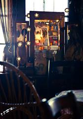 Caf Mirror (Bill.Winters) Tags: mirror bill cafe downtown poland oldtown winters easterneurope 2012 kazimierz kazimierzdolny billwinters photography4web