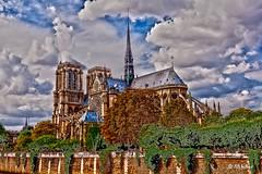 Notre Dame faon HDR (fififoto93) Tags: paris photo notre dame hdr