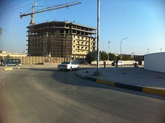 Construction, Basrah, Iraq