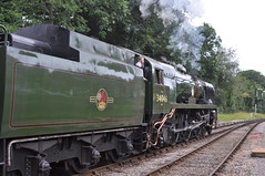 Ready For The Off From Crowcombe WSR (colinfpickett) Tags: england building english train countryside pretty somerset steam express picturesque steamengine svr westsomersetrailway vintagesteam vintageloco classicloco