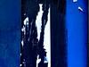 fase azul #5... (bruce grant) Tags: broadway tags cartazes obras novaiorque tapume rasgados apagados