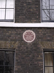 Photo of Sydney Smith brown plaque