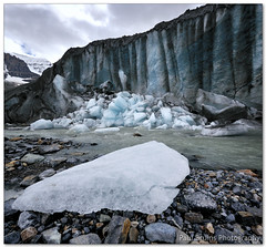 Ice Block (Panorama Paul) Tags: ice river banffnationalpark columbiaicefield athabascaglacier nohdr sigmalenses nikfilters vertorama nikond300 wwwpaulbruinscoza paulbruinsphotography