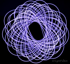 One light (Lynn McFulton) Tags: light lightpainting 5 flashlight february weeks 52 2012 spirograph physiograph 3652012 2010yip edition522012week