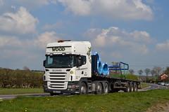 Scania R420 'J. Wood & Sons (NW) Ltd' reg PN63 PVX (erfmike51) Tags: lorry artic scaniar420 jwoodsons