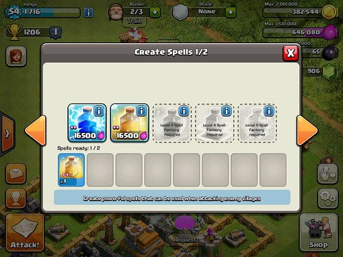 Clash of Clans Gameplay: screenshots, UI