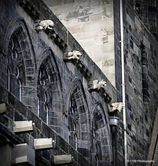 The Alien (Rollingstone1) Tags: building church architecture landscape scotland alien gargoyle paisleyabbey