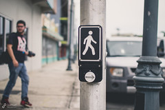 Walk (Xeyph) Tags: film puerto para walk rico button caminar push beg botton santurce