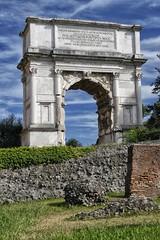 Arch of Titus - Forum Romanum ( big_biffi ) Tags: italy vatican rome roma italia colosseum trevifountain fontanaditrevi colosseo vaticancity circomassimo circusmaximus sanpaolofuorilemura colonnatodelbernini stpauloutsidethewalls villaborghesegardens