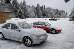 uncovered (brianficker) Tags: usa snow car wv skiresort westvirginia snowshoemountain