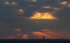Shafts of light (ArtGordon1) Tags: uk sunset summer england london nature silhouette clouds landscape evening dusk silhouettes sunrays davegordon davidgordon artgordon1 daveartgordon daveagordon davidagordon