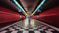 Munich Underground. Josephsburg (susan pau) Tags: underground subway munich mnchen bayern bavaria ngc ubahn