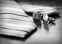 ODC - Masculine (lclower19) Tags: bw white black masculine necktie cufflinks odc