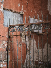 Napoli (miemo) Tags: street city travel italy sign wall spring gate europe campania rusty olympus rusted napoli naples omd wornout olympus45mmf18 em5mkii