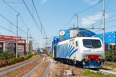 EU.43.008 RT (Andrea Sosio) Tags: train italia liguria genova stazione treno 008 rtc bombardier sampierdarena traxx nikond60 railtractioncompany eu43 andreasosio