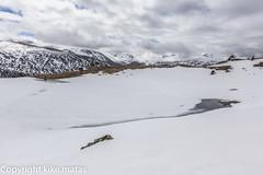 Estany del Querol, Principat d'Andorra (kike.matas) Tags: nature canon lago agua nieve paisaje nubes hielo andorra montaas pirineos andorre canillo valldincles principatdandorra  canonef1635f28liiusm kikematas canoneos6d lightroom4 estanydelquerol