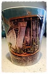 Oakland Jewel Mug (Oakland.Style Artist Octavious Sage) Tags: cute art cup cuisine tea coffeecup mug eastbay dinnerware creativedesign artisticstyle cutecup bayareaart oaklandartist sanfranciscoartist oaklandjewel creativedesignart osdesigns