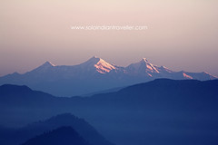 Bandar Poonch (Anubhav Kochhar) Tags: morning travel india mountain snow mountains beautiful canon wow photography eos amazing view indian awesome earlymorning peak snowcapped covered lovely peaks dslr himalayas snowcovered morningmist massif newday beautifulday garhwal beautifulmorning uttarakhand pauri ef100400mm 60d uttrakhand bandarpunch khirsu soloindiantraveller anubhavkochhar airingbyway