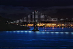 Blu Jazza (Andrew Louie Photography) Tags: life morning bridge blue photography lights bay san francisco blu sunday jazz run area breakers jazza