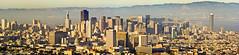 Downtown San Francisco (Joerg1975) Tags: sanfrancisco california travel panorama usa america landscape unitedstates pano sony unitedstatesofamerica twinpeaks northamerica alpha amerika landschaft stitched reise kalifornien californie estadosunidos   tatsunis  nordamerika panoramastudio