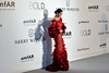 TOPSHOT - US singer Katy Perry poses as she arrives for the amfAR's 23rd Cinema Against AIDS Gala on May 19, 2016 at the Hotel du Cap-Eden