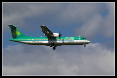 IMG_0235 (scotchjohnnie) Tags: canon airplane aircraft flight canoneos aerlingus newcastleinternationalairport scotchjohnnie