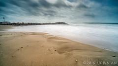 Palavas Seafront (flowed_back) Tags: sea sky france beach clouds zeiss sand nikon languedocroussilon leefilters zf2 distagont2821 leethebigstopper d800e lee09hardgnd leelandscapepolariser