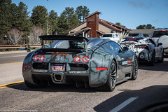 Bugatti Veyron 16.4 (Hunter J. G. Frim Photography) Tags: silver french colorado gray wing 164 carbon bugatti supercar goldrush w16 veyron bugattiveyron hypercar bugattiveyron164 goldrushrally goldrushrally8