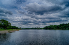 Moody Skies over the Illinois (kendoman26) Tags: clouds hdr illinoisriver sonyalpha morrisillinois enjoyillinois travelillinois sal1855 nikhdrefexpro2 sonyslta58 sonya58