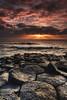 Sun Blessing (Maxwell Campbell) Tags: sunrise landscape nsw sunrays fingal tweedheads tweedcoast fingalheads