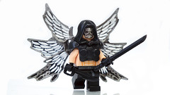 Apocalyptic Angel ([N]atsty) Tags: black angel lego fig hazel ama figure minifig custom apocalyptic brickarms amazingarmory minifigcat