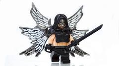 Apocalyptic Angel ([N]atsty) Tags: black angel lego fig hazel ama figure minifig custom apocalyptic brickarms amazingarmory minifigcat