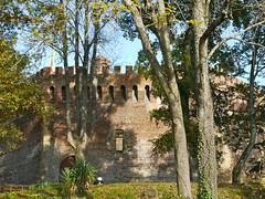 Morlanne, Pyrnes Atlantiques: le chteau, ct sud-ouest (Marie-Hlne Cingal) Tags: france southwest castle 64 fortification castello chteau sudouest aquitaine barn pyrnesatlantiques morlanne gastonfbus arnaudguilhemdebarn