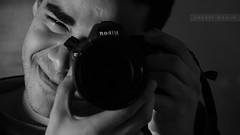 C'est moi (Sherif Wagih) Tags: camera portrait man photoshop self typography nikon young egypt images cairo egyptian getty dslr sherif lightroom amatuer selfie 18105 curator flickrfriday photogher wagih d5100