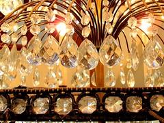 Chandelier 1 (Universal Pops (David)) Tags: light shadow glitter virginia wire pattern decoration sparkle danville chandelier abstraction mansion 1980s affluence cutglass italianate 100pounds danvillemuseumoffineartsandhistory sutherlinhouse