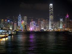Victoria Harbour, Hong Kong (November 2011)