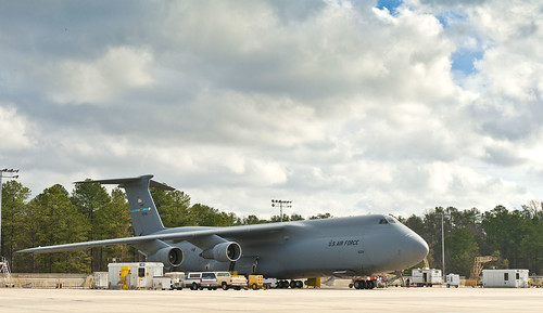 Tenth C-5 Inducted for Modernization