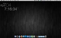 Dark Wood Desktop (ematenaer) Tags: desktop mac imac lifehacker