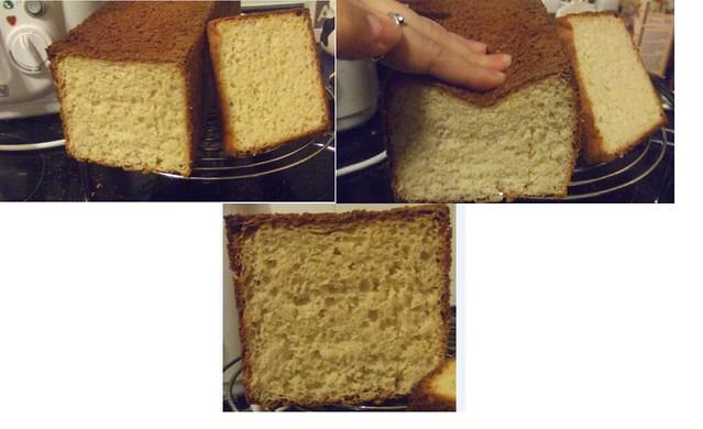 Mi pan bimbo sin gluten/ glutenfree bread