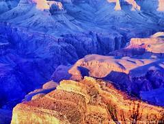 Purple (lhg_11, 2million views. Thank you!) Tags: nature landscape shadows purple grandcanyon highlights views geology rim grandcanyonnationalpark usnationalparks