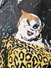 Divine (billy craven) Tags: streetart chicago wheatpaste bighair divine leopard tranny crossdresser johnwaters