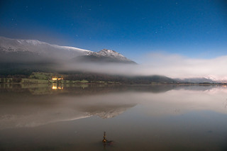 Bassenthwaite Lake by moonlight